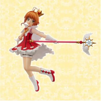 Card Captor Sakura Special PVC Figure - Sakura Rocket Beat