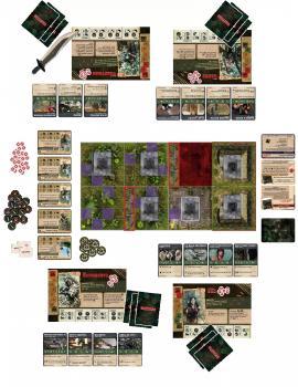 Rambo The Board Game Core Set