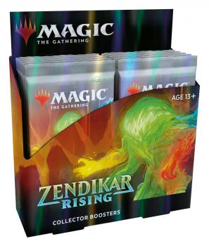 Magic the Gathering TCG Zendikar Rising Collector's Booster Display (12)