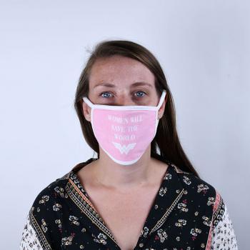 Face Masks - Wonder Woman (Save the World) (Set of 2 masks)