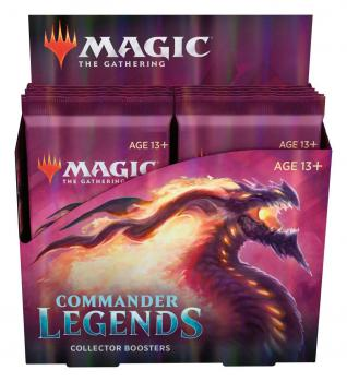 Magic the Gathering TCG Commander Legends Collector Booster Display (12)