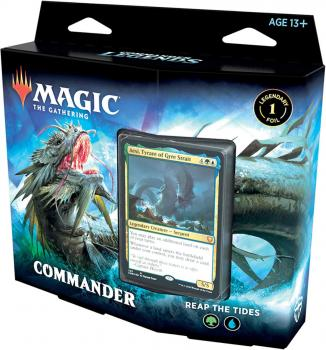 Magic the Gathering TCG Commander Legends Deck Reap the Tides
