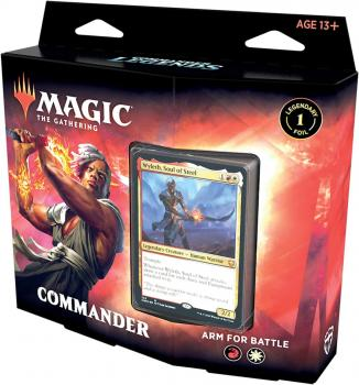 Magic the Gathering TCG Commander Legends Deck Arm for Battle