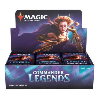 Magic the Gathering TCG Commander Legends Draft Booster Display (24)