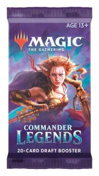Magic the Gathering TCG Commander Legends Draft Booster Pack