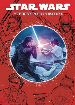 Star Wars Rise Of Skywalker Illustrated Storybook (Die Cut Cover) (Hardcover)