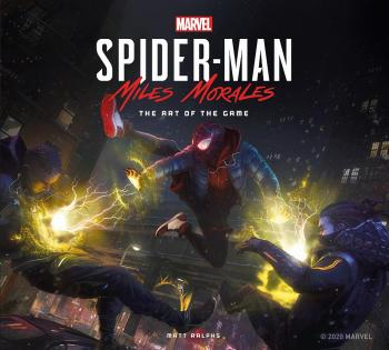 Marvel's Spider-Man Miles Morales: Art Of The Game (Hardcover)