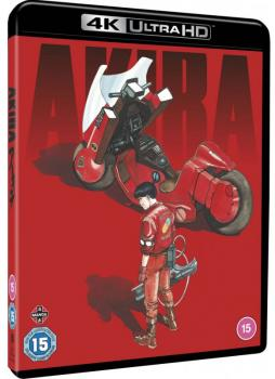 Akira 4K UHD & Blu-Ray UK Limited Edition