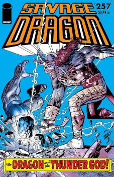SAVAGE DRAGON #257 CVR A LARSEN (MR)