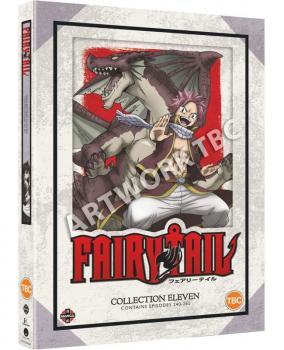 Fairy Tail Collection 11 DVD UK