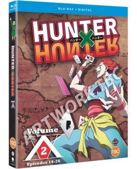Hunter X Hunter Set 02 Blu-Ray UK