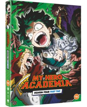 My Hero Academia Season 04 Part 02 DVD UK