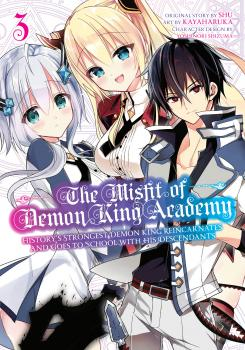Misfit of demon king academy vol 03 GN Manga