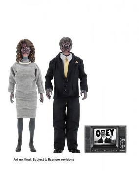 They Live Retro Action Figure - 2-Pack Aliens