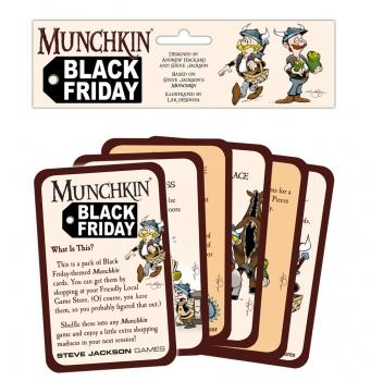 Munchkin Card Game - Booster Black Friday