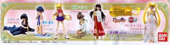 Sailormoon HGIF Capsule toys part 3 Set of 6 figures