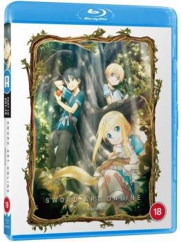 Sword Art Online Alicization Part 01 Blu-Ray UK