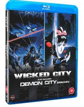 Wicked City & Demon City Shinjuku Blu-Ray UK