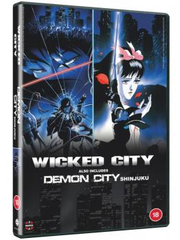 Wicked City & Demon City Shinjuku DVD UK