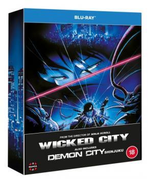 Wicked City & Demon City Shinjuku Blu-Ray UK Limited Edition
