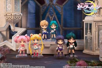 Sailor Moon Eternal Figuarts Mini Action Figure - Super Sailor Pluto (Eternal Edition)