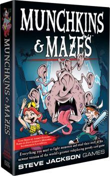 Munchkin Card Game - Munchkins & Mazes