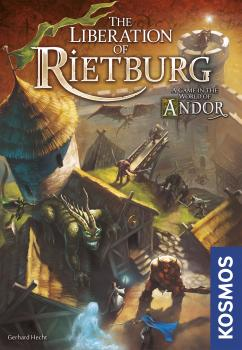 Legends of Andor Board Game - The Liberation of Rietburg