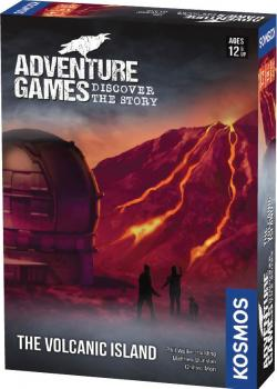 Adventure Games Card Game - The Volcanic Island