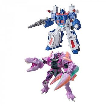 Transformers Generations War for Cybertron: Kingdom Action Figures - Leader 2021 W2 Assortment (2)