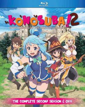 Konosuba Season 02 + OVA Blu-ray