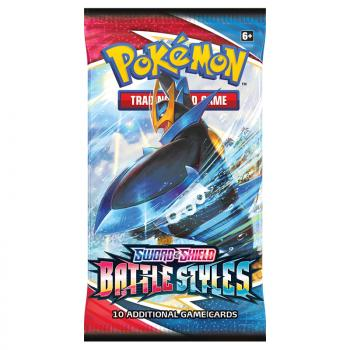 Pokemon TCG Sword & Shield 5 Battle Styles Booster Pack