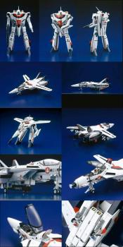 Macross Transformable Action figure VF-1A 1/48 Die cast figure
