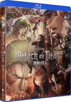 Attack On Titan Season 03 Blu-ray