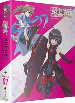 BOFURI I Don't Want to Get Hurt So I'll Max Out My Defense Season 01 Limited Edition Blu-ray/DVD