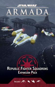 Star Wars Armada Miniature Game - Republic Fighter Squadrons Expansion Pack