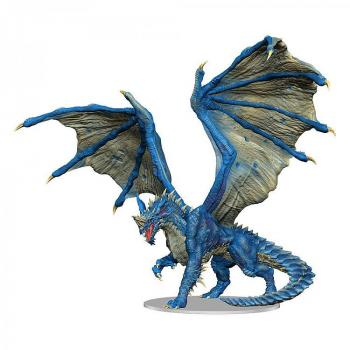 D&D Icons of the Realms Premium Miniature Pre-Painted Adult Blue Dragon