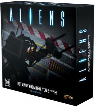 Aliens Board Game Expansion Set - Get Away From Her You B###h!