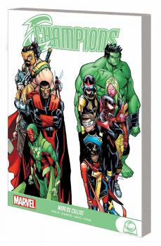 CHAMPIONS GN: WORLDS COLLIDE (TRADE PAPERBACK)