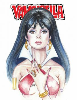 HOLLY GOLIGHTLY VAMPIRELLA MAGAZINE 1972 ANN REPRINT VIRGIN