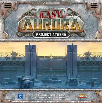 Last Aurora Board Game Expansion Set Project Athena