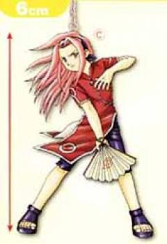 Naruto Figure key holder C