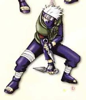 Naruto Figure key holder D