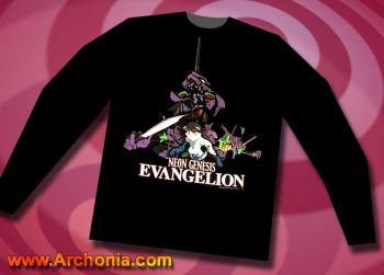 Neon genesis evangelion Collage Long sleeve T-shirt XL