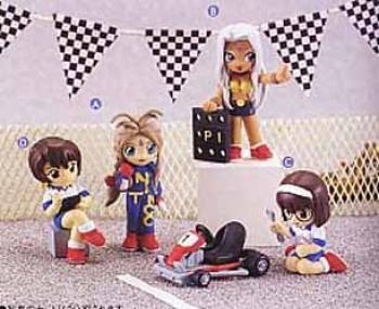 Ah my Goddess Mini Display Figure II D
