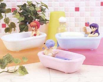 Neon genesis evangelion Soap dish diorama figure A