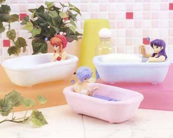 Neon genesis evangelion Soap dish diorama figure C