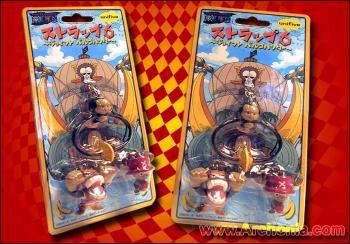 One Piece Double figure keyholder B