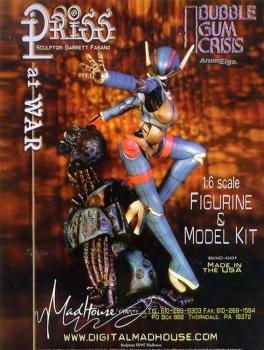 Priss at war resin model kit