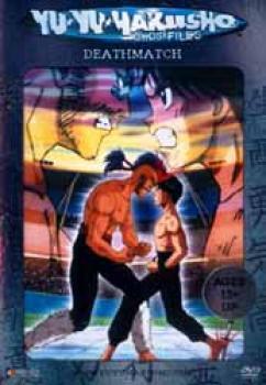 Yu yu Hakusho Spirit detective vol 09 Deathmatch Uncut DVD