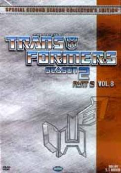 Transformers Season 2 Part 8 DVD